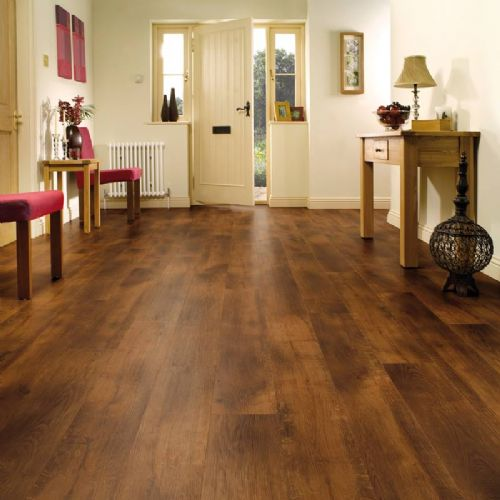 Karndean Van Gogh Wood Flooring Smoked Oak